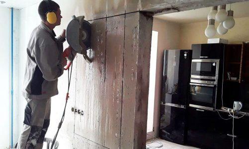 Демонтаж бетона (Киев): особенности и преимущества метода